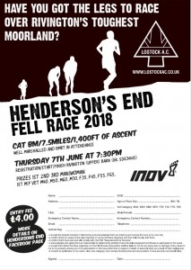 Henderson End Entry Form
