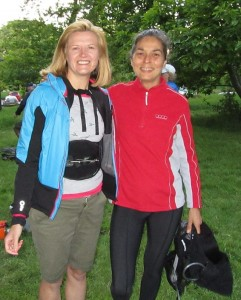Lindsey Brindle and Suzanne Budgett at Hendersons End 2nd June 2016